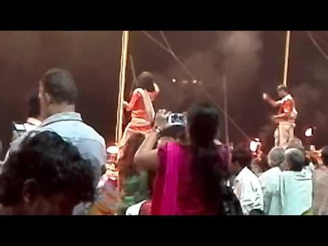 Japan PM & India PM visit Varanasi for Ganga Aarti (Ganga Puja)