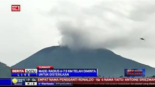 Download Video Gunung Agung Meletus, Asap Tebal Membubung Setinggi 700 Meter MP3 3GP MP4