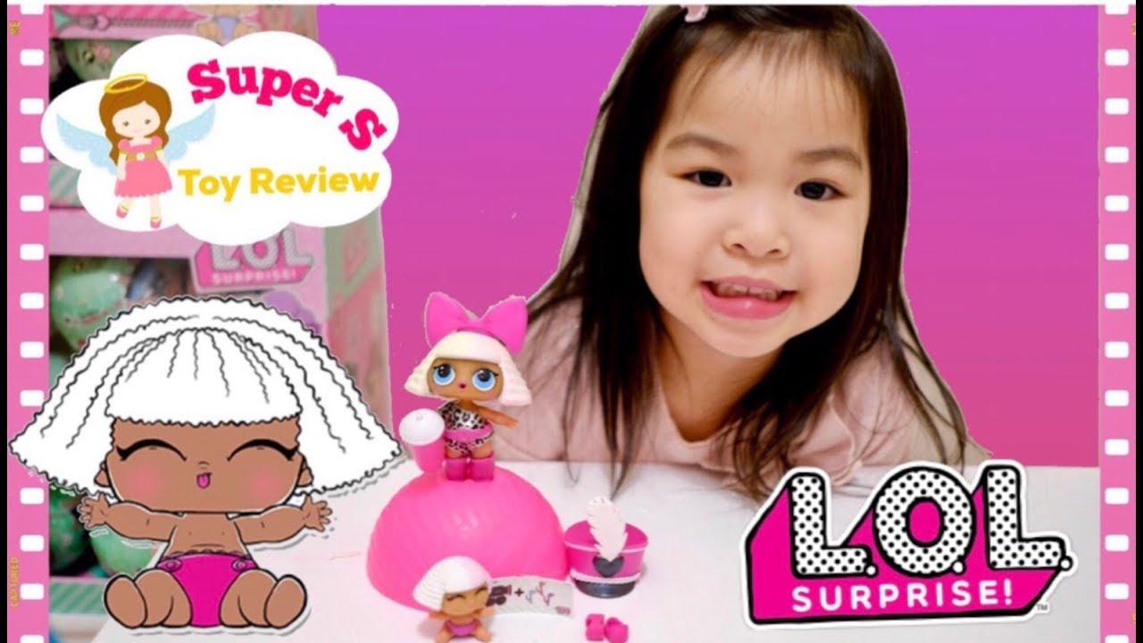 Lol surprise dolls diva glee club unwrap lil sister series - Diva lol surprise ...