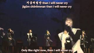 DBSK - 지금 처럼 (Like Now) @ 1st Asia Tour [romanize+hangul+eng sub]