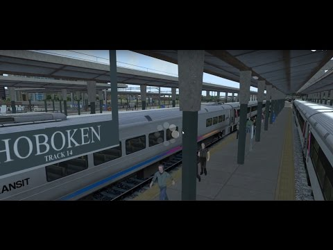 Train Simulator: NJ Transit Train From Hoboken To Penn Station