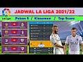 Jadwal Liga Spanyol Malam ini ~ La Liga 2021/22 Pekan 5   Valencia vs Real Madrid