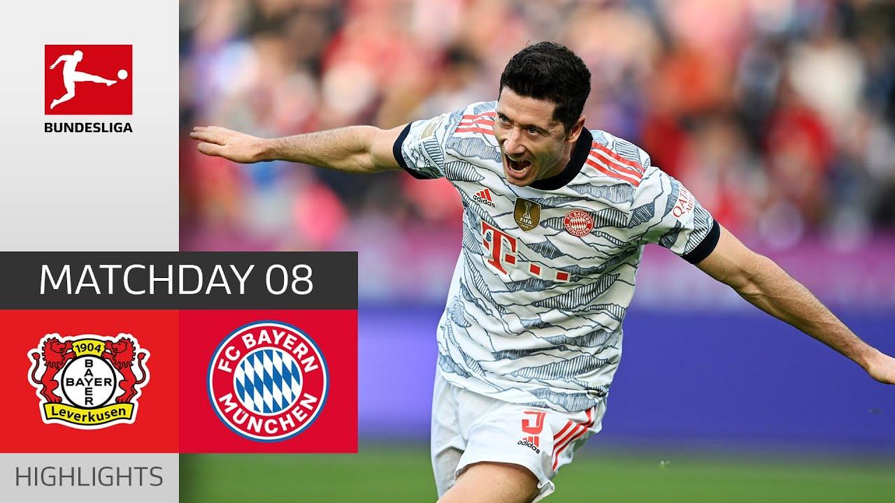 Download Bayer 04 Leverkusen - FC Bayern München 1-5 | Highlights | Matchday 8 – Bundesliga 2021/22