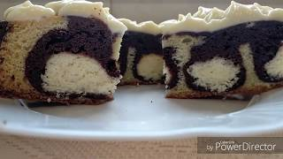 "Торт ""Ранкова роса"" із кокосово-сирними кульками CAKE MORNING DEW (with  English subtitles)"