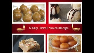 Quick and Easy Mithai Recipes for Diwali | Indian Sweets Recipe|By Rj Payal's Kitchen