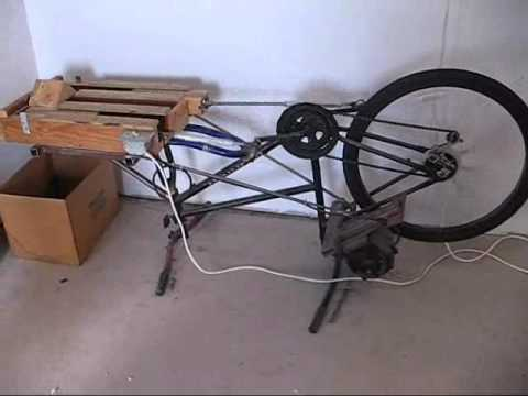 Double Barrel Bicycle Can Crusher Youtube