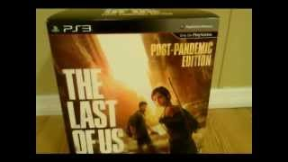 The Last of Us Post Pandemic PS3 Unboxing collectors exclusive edition