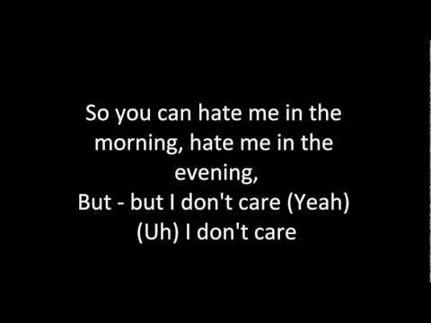 SonaOne feat Karmal - I Don't Care (Lyrics)