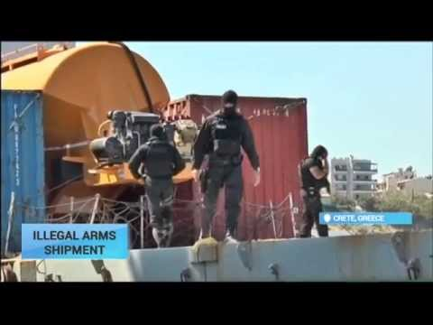 Greece Illegal Arms Shipment: Greek coastguard intercepts ship with weapons bound for Libya