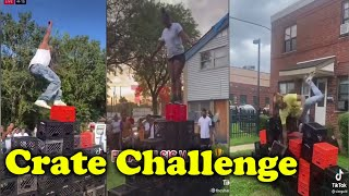Funniest Crate Challenges (ICU Ultimate Fails) Tiktok in the Hood Olympics 2