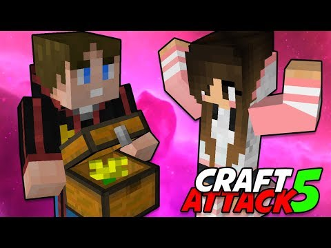 Einzug bei Ive 💥 Craft Attack 5 #14 Minecraft Deutsch 💥 baastiZockt