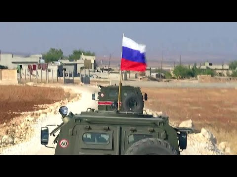 Россия и Турция начали совместное патрулирование на северо-востоке Сирии.