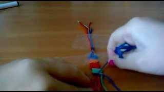 Как плести фенечки) Видеоурок №2)
