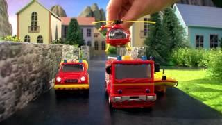 Sam a tűzoltó - tűzoltóállomás játék