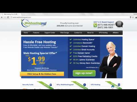 Web Hosting Pad Review
