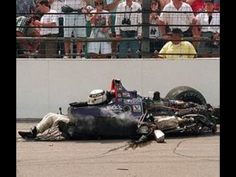 Indy Car Crash Video Youtube