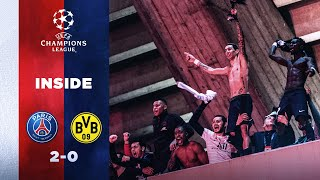 INSIDE [EXCLUSIVE FOOTAGES] 🎬 - PARIS SAINT-GERMAIN vs DORTMUND