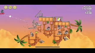 Angry Birds Rio | Golden Beachball -- Levels 1-4