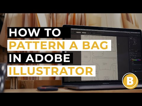 How To Make A Bag Sewing Pattern in Adobe Illustrator   SEWING WITH STEVE