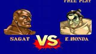Street Fighter II′ Turbo: Hyper Fighting (Arcade) - Sagat Longplay