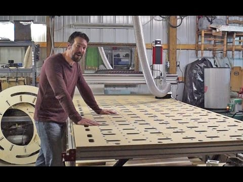 Building a 5'x10' CNC Router from CNC Router Parts