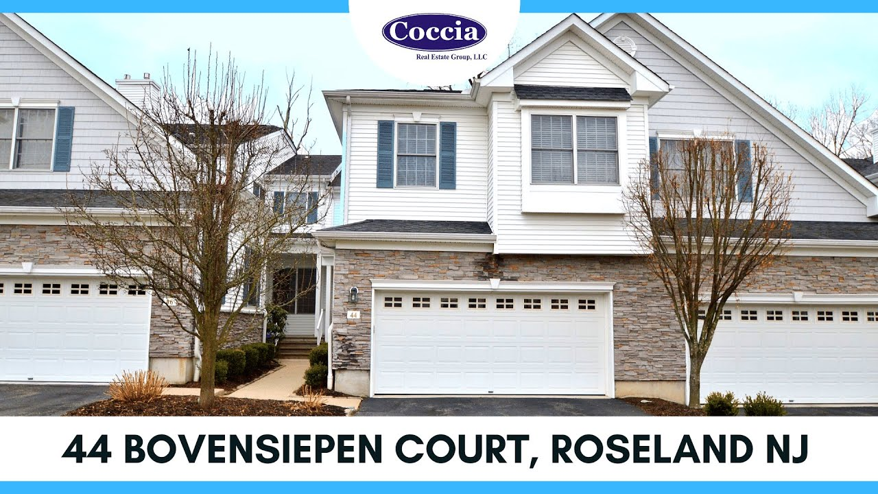 44 Bovensiepen Court | Homes for Sale Roseland NJ | Essex County