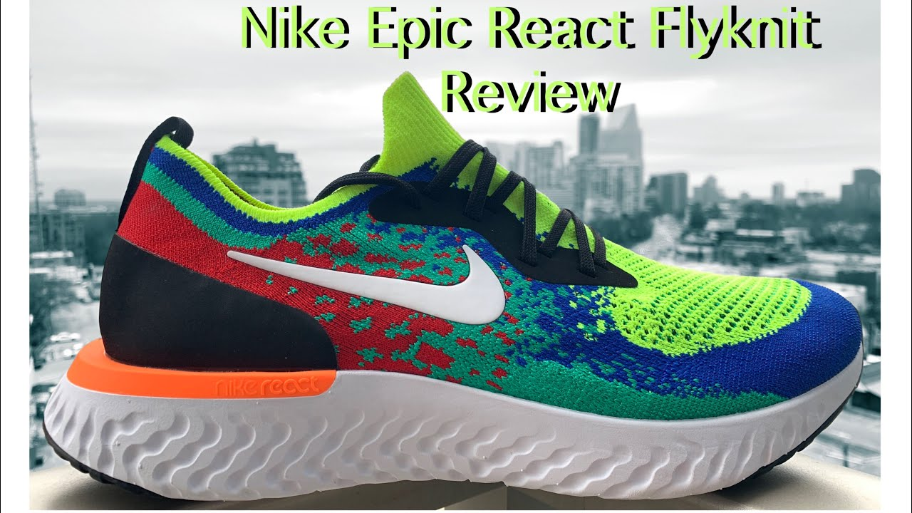 a0902287cb72 NIKE EPIC REACT FLYKNIT BELGIUM Review - YouTube