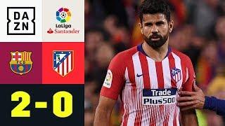 Diego Costa sorgt für Riesen-Eklat und fliegt: FC Barcelona - Atletico Madrid 2:0 | La Liga | DAZN