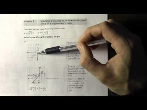 6.2  Radian Measure and Angles on the Cartesian Plane