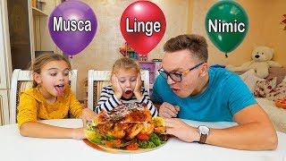 Musca 😃,Linge 😛 sau Nimic 😑Challenge Melly Karamely