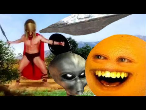 La naranja molesta vs Slender ( ESPAÑOL )   FunnyDog.TV