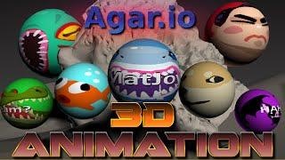 AGAR.IO 3D ANIMATION - The underwater camera