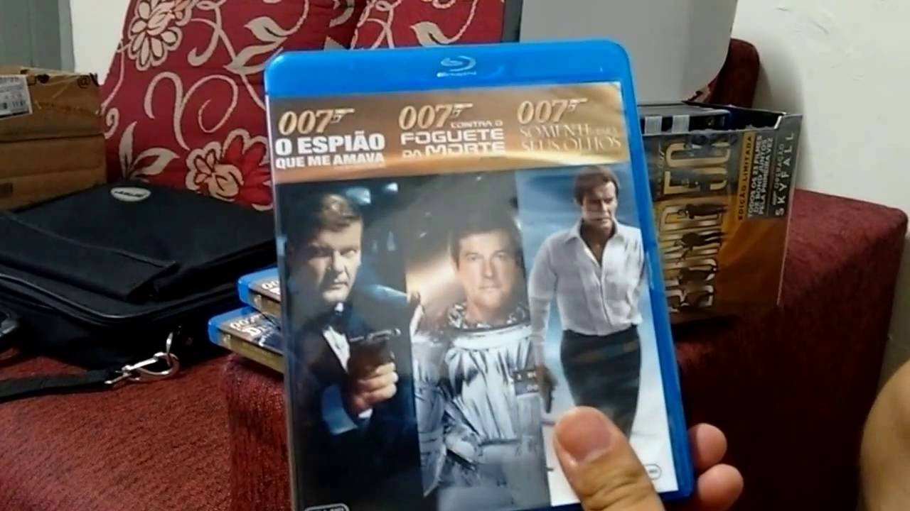 Colecao Blu Ray Bond 50 Cinco Decadas Do 007 Youtube
