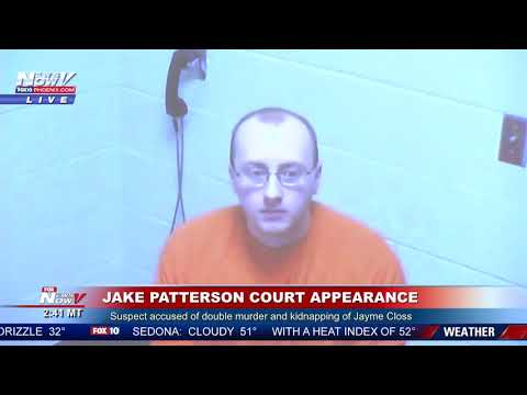 KIDNAPPING SUSPECT: Jake Patterson First Court Appearance - Jayme Closs Update