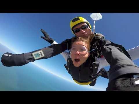 Rachel Whyte At Coastal Skydive