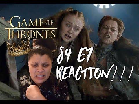 "Game of Thrones S4 E7 ""Mockingbird"" - REACTION!!! (Part 2)"