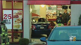 Vehicle Plows Through Window Of West Mifflin Arby's