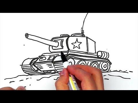 Рисуем ТАНК только макрером