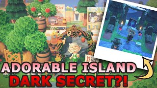 GORGEOUS Island With A STORY!? | Animal Crossing New Horizons 5 Star Island Tour