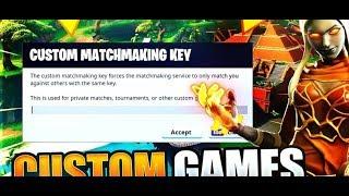Fortnite Custom Games!!!!! Code: illu(German/German)