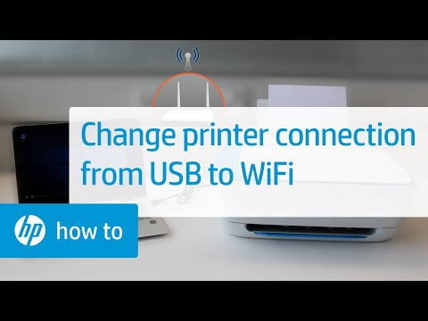 Converting an HP Printer from a USB to a Wireless Connection in Windows | HP Printers | HP