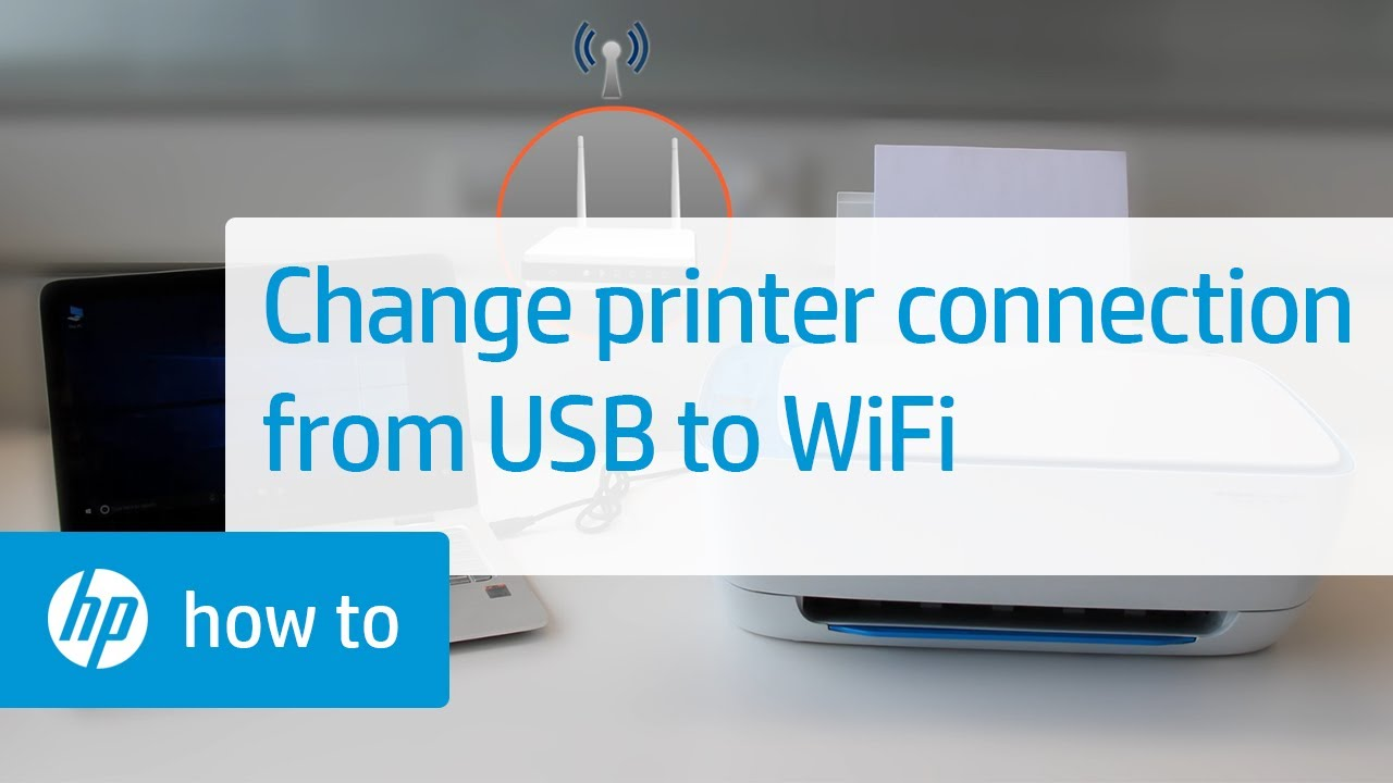 Converting An Hp Printer From A Usb To A Wireless