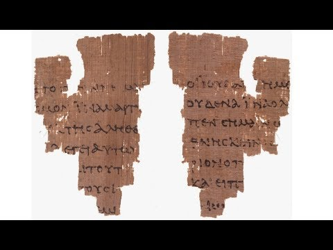 Papyrus P52. The Oldest Gospel Manuscript?