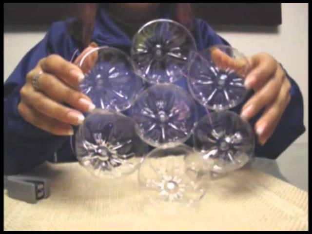 Lámpara de Botellas de plástico Videos De Viajes
