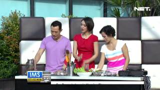 Ims - Lets Cook Beef Teriyaki Sandwich Dan Paprika Orange Chicken