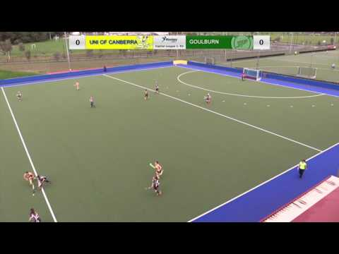 Uni of Canberra v Goulburn, CL1 Women - Round 2, 2017