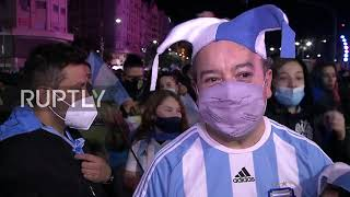 Argentina: Celebrations break oขt in Buenos Aires following Copa America win
