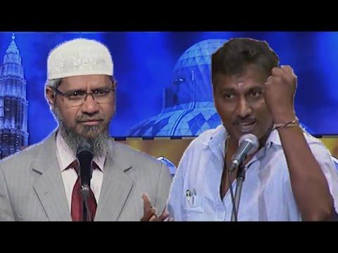 Pengusaha Hindu Mengamuk di Acara Dr. Zakir Naik
