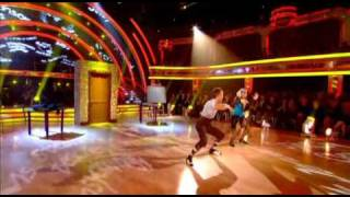 Pamela Stephenson & James Jordan - Charleston - Strictly Come Dancing Week 9 - Long Edit