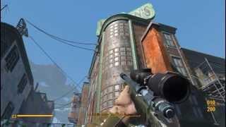 Fallout 4 Галерея Пикмана. Как это было